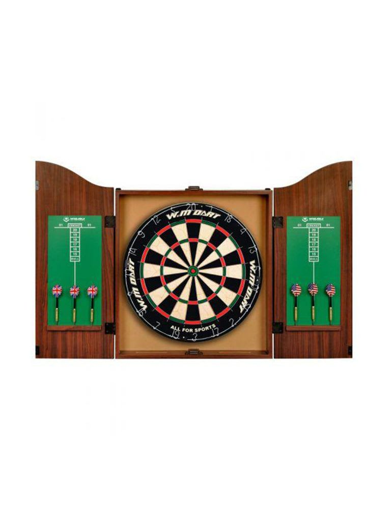 Cabin Dartboard Set