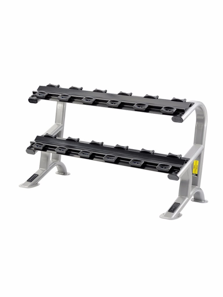 2 Tier Dumbbell Saddle Rack