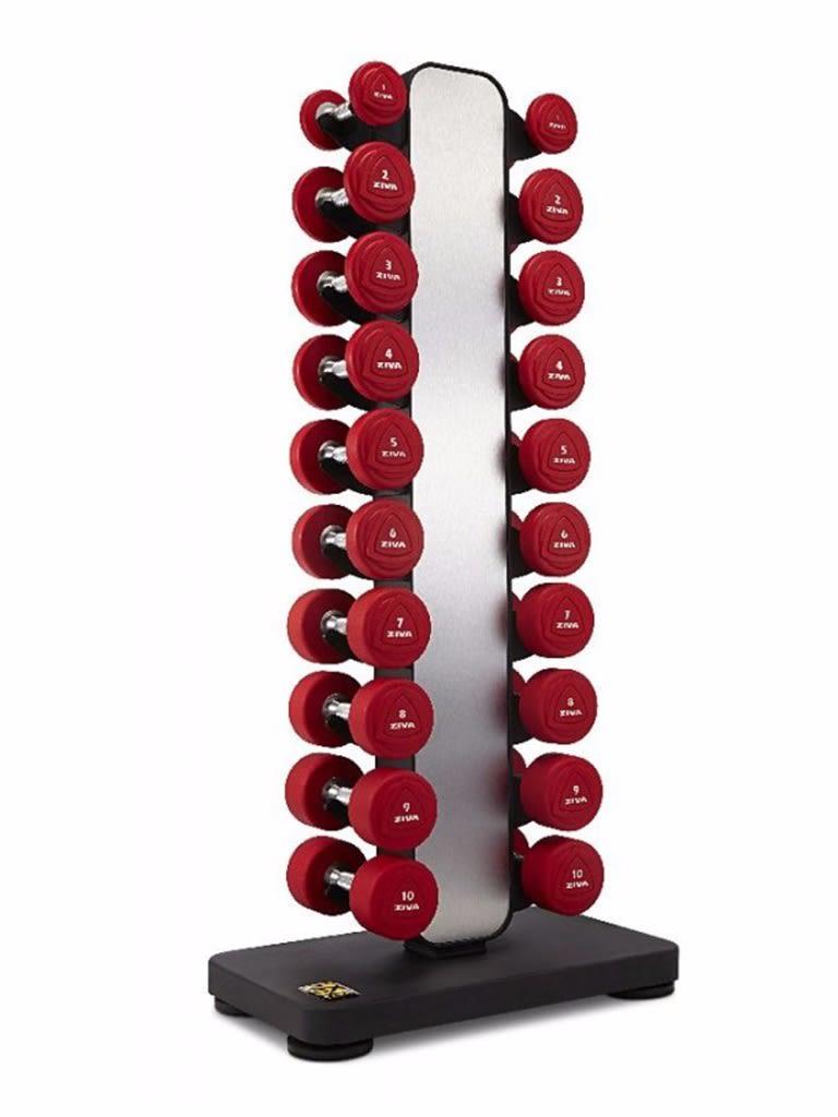 EX 1-10 Kg Vertical Studio Dumbbel Rack
