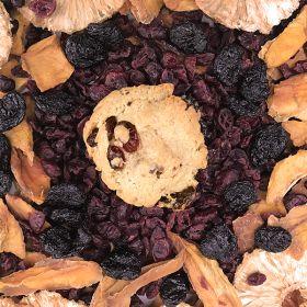 After Dark Cookies presents the Fruit Salad cookie