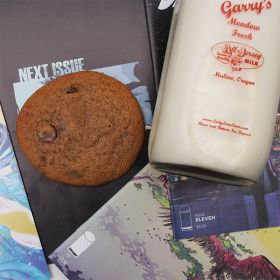 After Dark Cookies presents the Chocolate Milk cookie