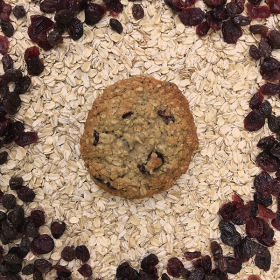 After Dark Cookies presents the Oatmeal Raisin Craisin cookie