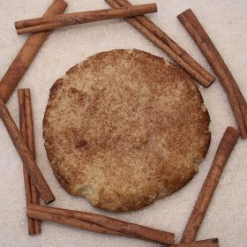 After Dark Cookies presents the Snickerdoodle cookie