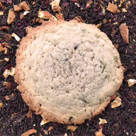 After Dark Cookies presents the Tealuxe cookie