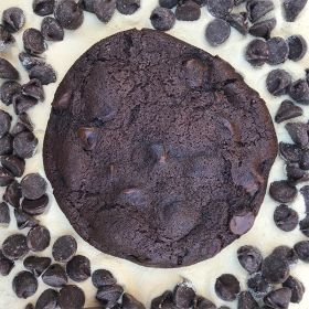 After Dark Cookies presents the Malted Chocolate cookie