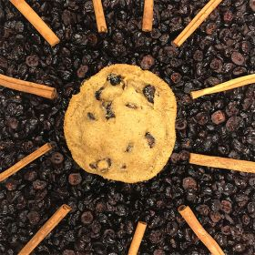 After Dark Cookies presents the Cranberry Spice cookie