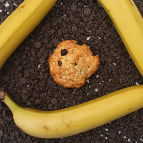 After Dark Cookies presents the Happy Monkey cookie