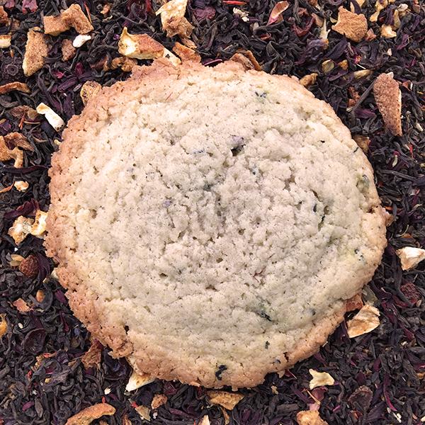 After Dark Cookies presents the Tealuxe cookie