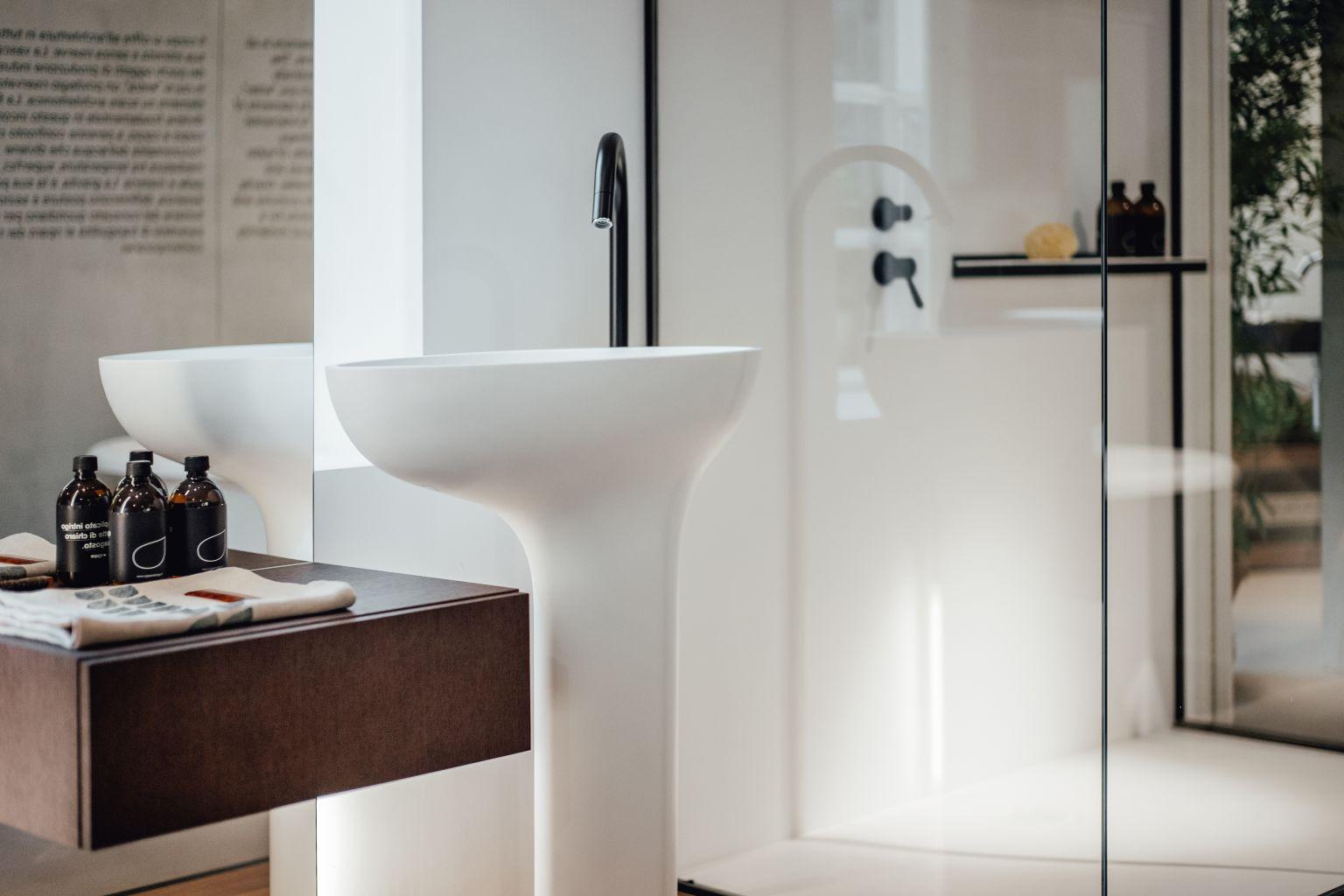 Lavabo A Colonna Design drop - agape