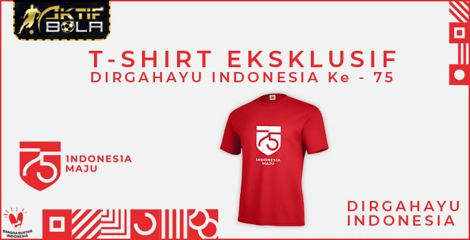 Event Tshirt Eksklusif Dirgahayu Indonesia