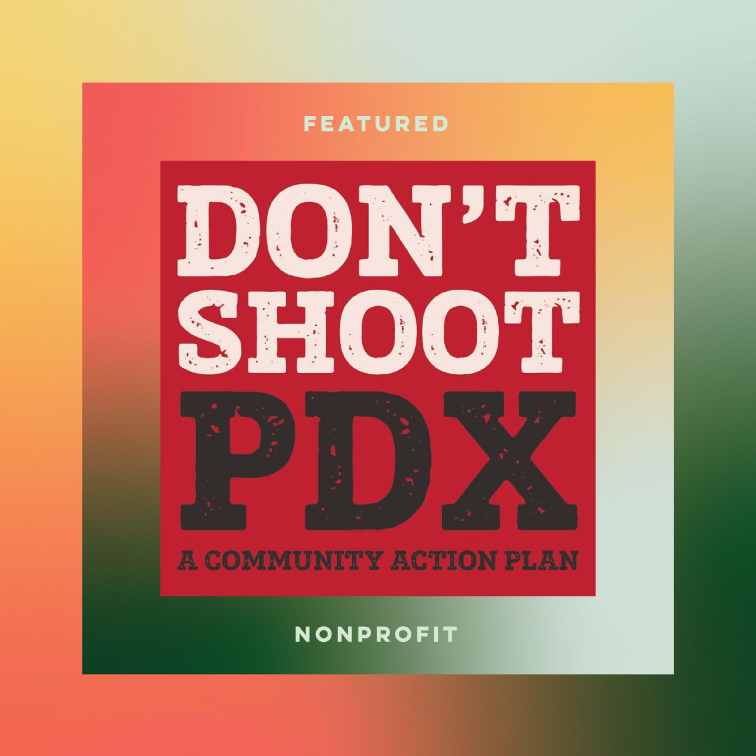 Don't Shoot PDX logo