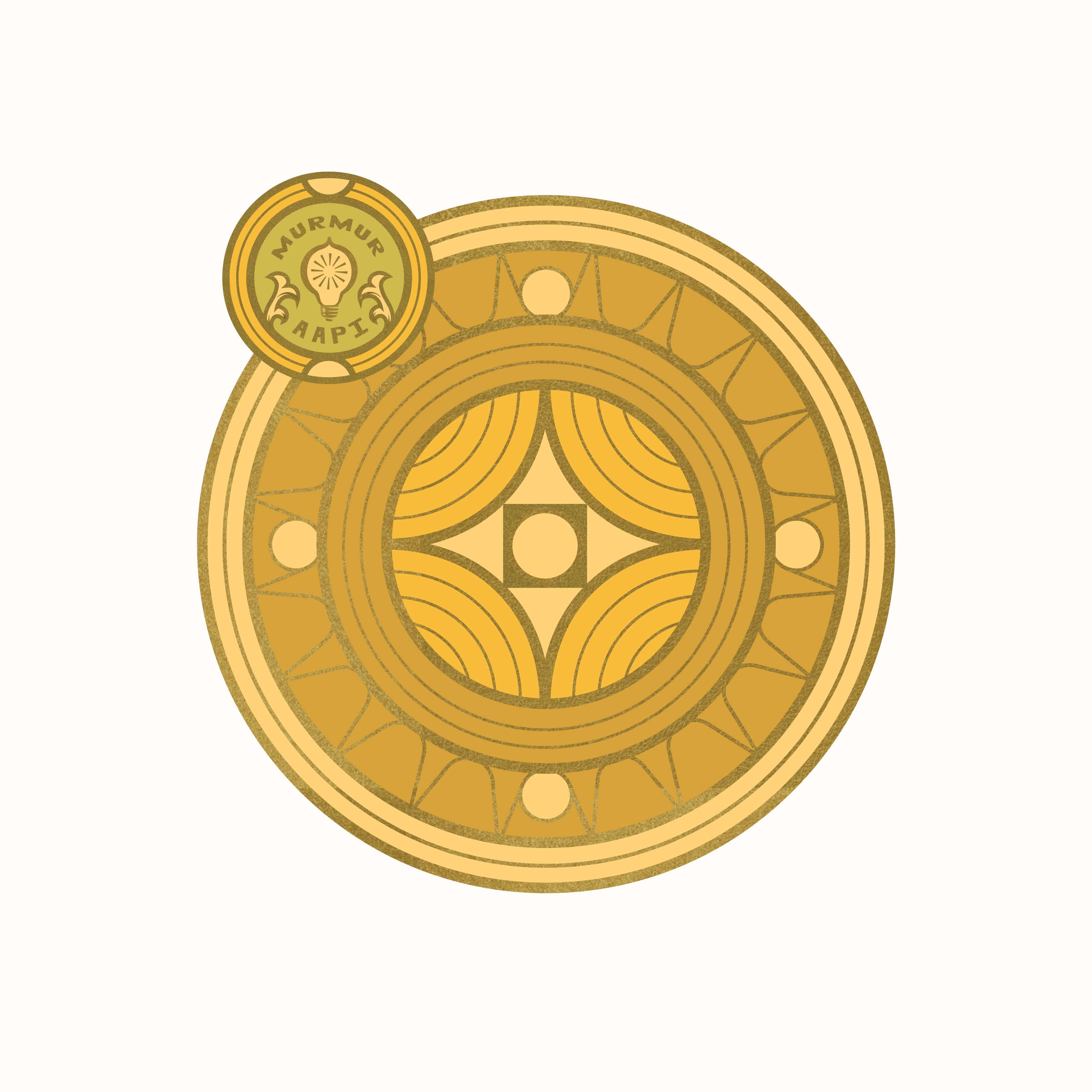 AAPI Sun Badge