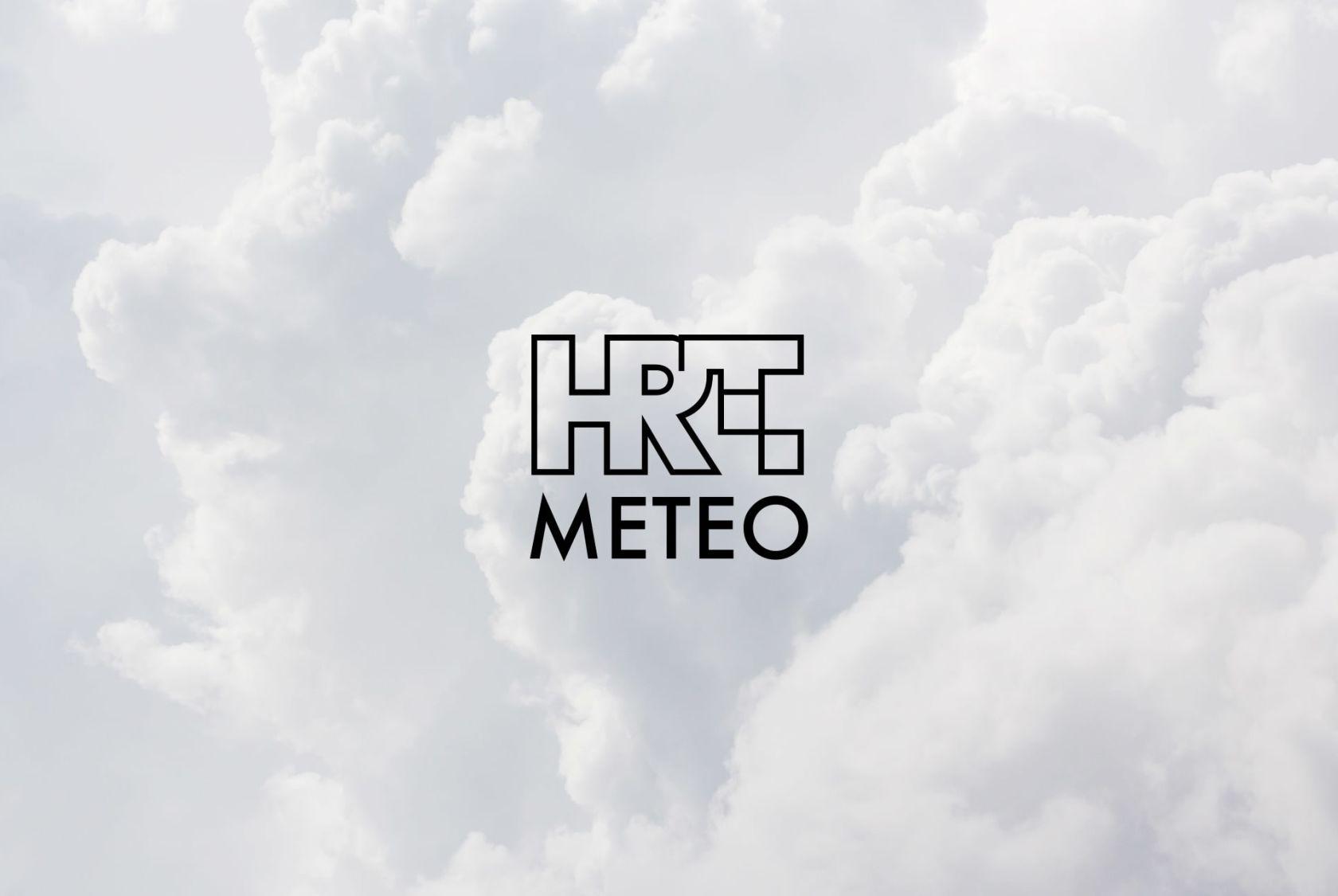 Vrijeme je za HRT Meteo app