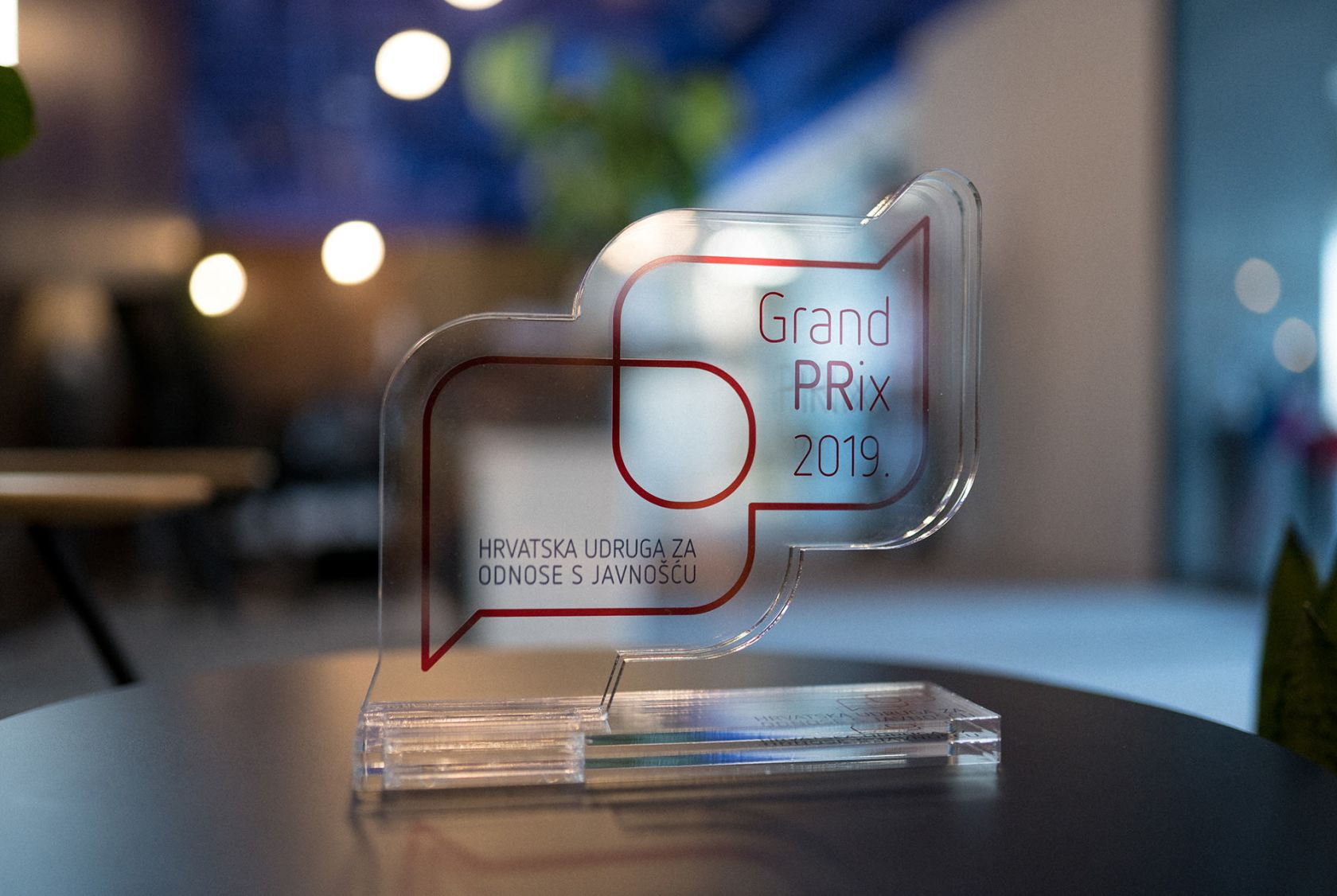 Campaign titled Ponosni na dobar posao u Valamaru wins Grand PRix in large companies category