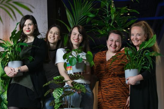 Meet the 404 team looking after more than a hundred of our plants