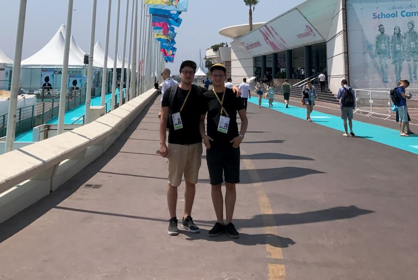 "Mubrin and Buntić at the Prestigious ""Cannes Young Lions"""