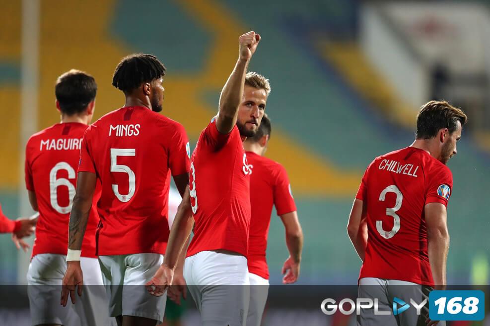 Inggris Butuh 1 Poin Lagi Untuk Lolos Kualifikasi Piala Eropa 2020