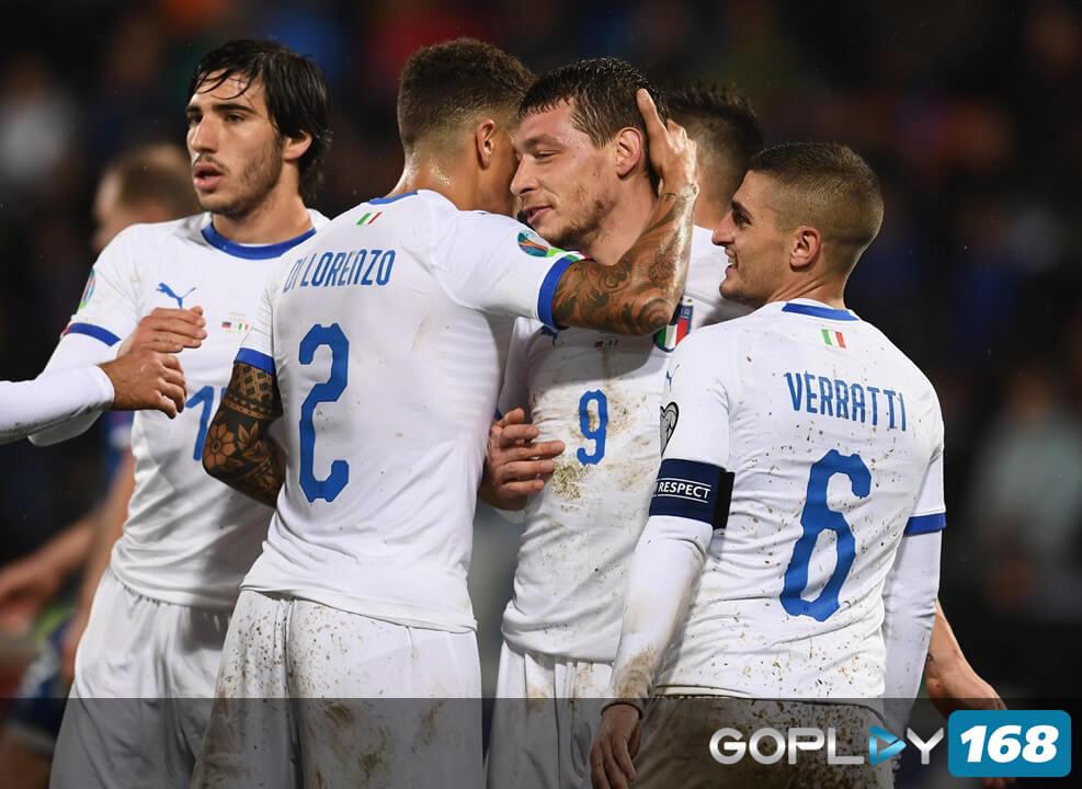 Italia Mempertahankan 9 Kemenganan Berturutnya Setelah Mengalahkan Liechtenstein 0-5