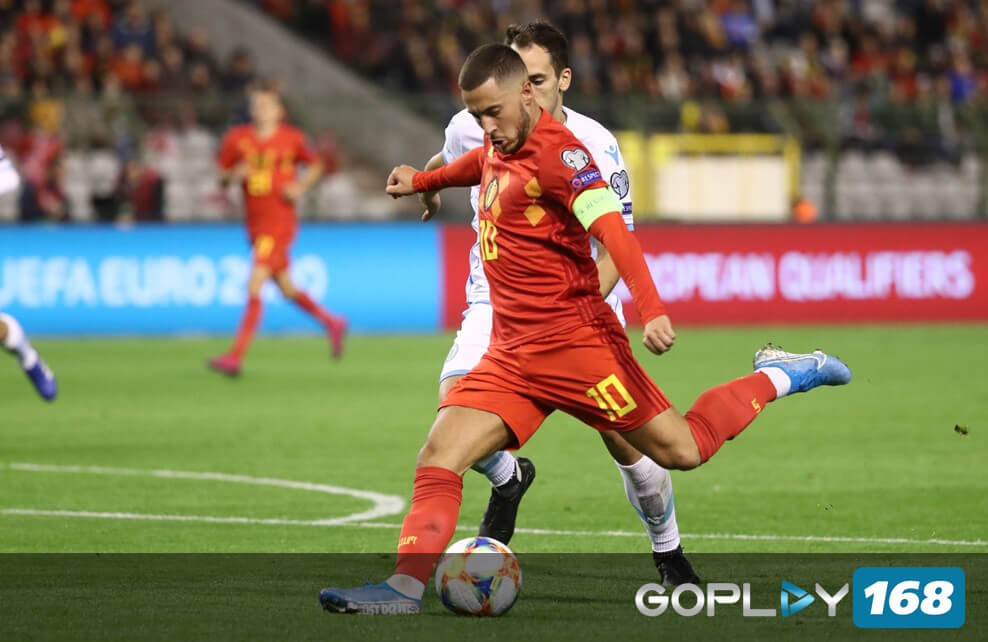 Belgia Lolos Kualifikasi Piala Eropa 2020