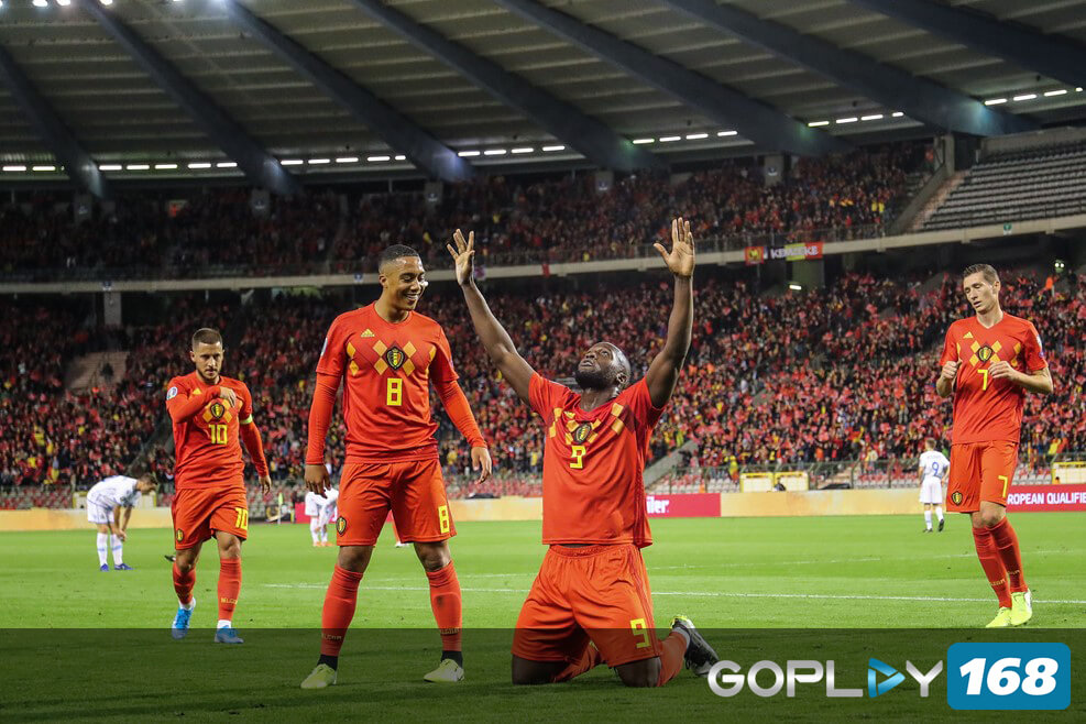 Belgia Tim Pertama Yang Lolos Piala Eropa 2020