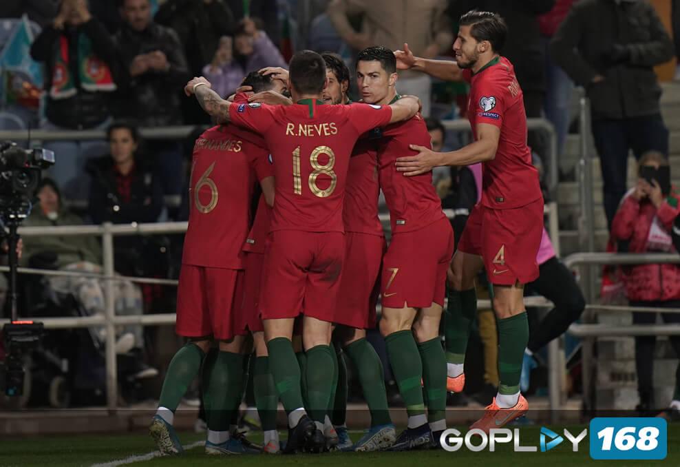Portugal Vs Lithuania Cristiano Ronaldo Hat Trick Dengan Hasil Akhir 6-0