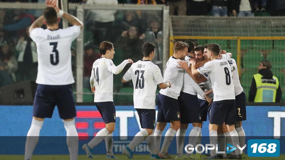 Italia Menang Besar Atas Armenia 9-0