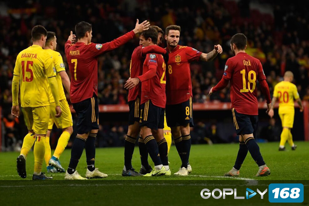 Spanyol Vs Rumania 5-0
