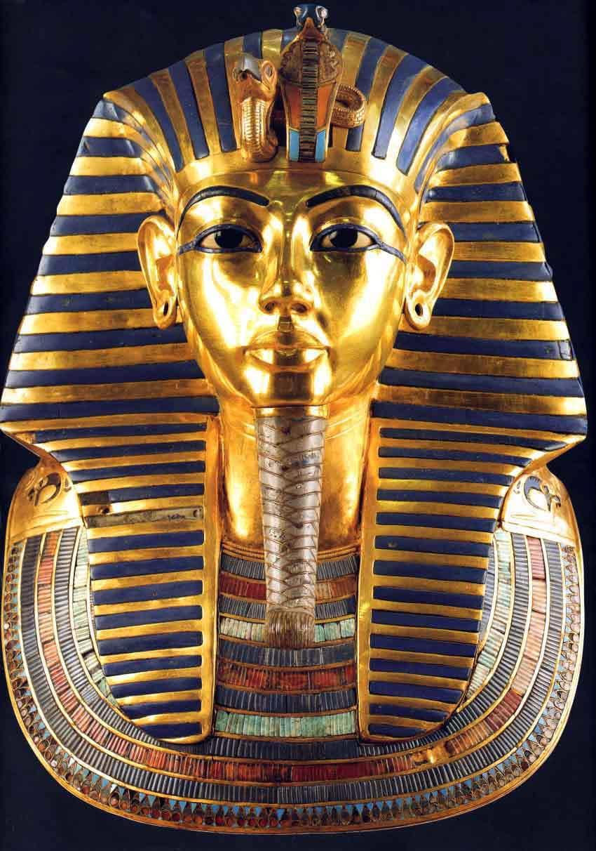King tuts golden tomb mask