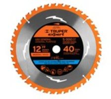 "DISCO SIERRA CIRCULAR 12"" TRUPER EXPERT ST-1240EX 40 DIENTES 100107"