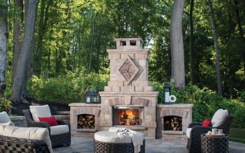 Belgard Bristol Series Fireplace