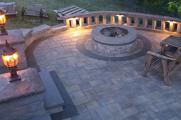 Father Son Patio Projects