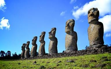 Ancient Stones Found at Easter Island