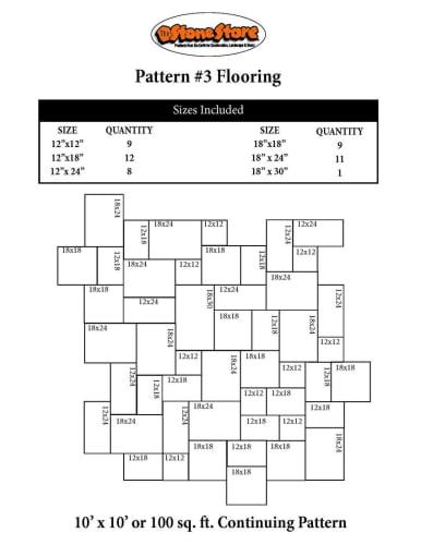 Bluestone Flooring Pattern Version 3