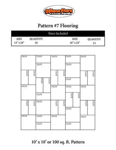 Bluestone Flooring Pattern Version 7
