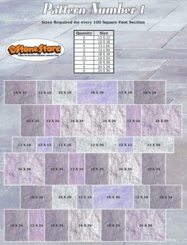 Natural Stone Flooring Pattern Version 1