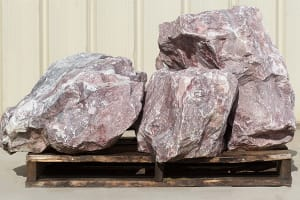 Pink White Boulders