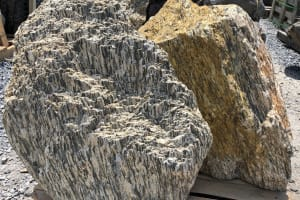 Wooden Stone Boulders - Large