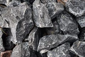 number 2 stone, blue gray stone, crushed stone, blue grey crushed stone