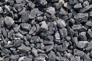 number 57 stone, blue gray crushed stone