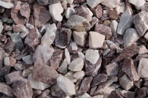 pink stone, white stone, pink and white stone