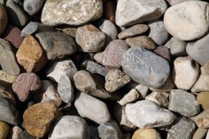 river gravel, river stone, lava rock, pea gravel, Xeriscaping stone, decorative ground cover stone, river jacks