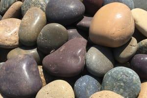 pebbles, beach pebbles, smooth stones, mexican beach pebbles, exotic pebbles