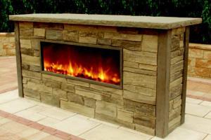 ClifRock Kalea Bay Fireplace