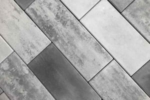 Plank Paver Granite City Pewter and Raven