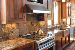 Saratoga Granite & Corinthian Granite Blend