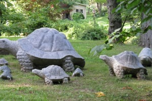 Turtle Statuary