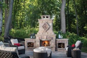 BelgardOutdoor Fireplace