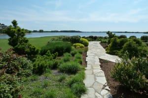Flagstone Walkway through Gardens