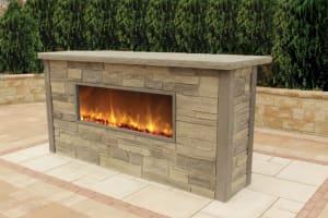 NicolockOutdoor Fireplace