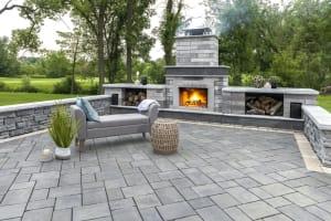 UnilockExterior Fireplace